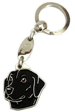 LABRADOR RETRIEVER BLACK - pet ID tag, dog ID tags, pet tags, personalized pet tags MjavHov - engraved pet tags online
